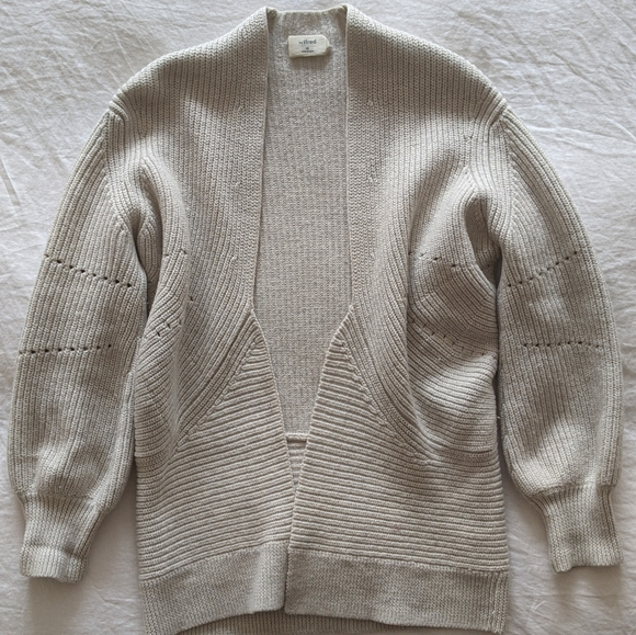 Wilfred knit cardigan from Aritzia